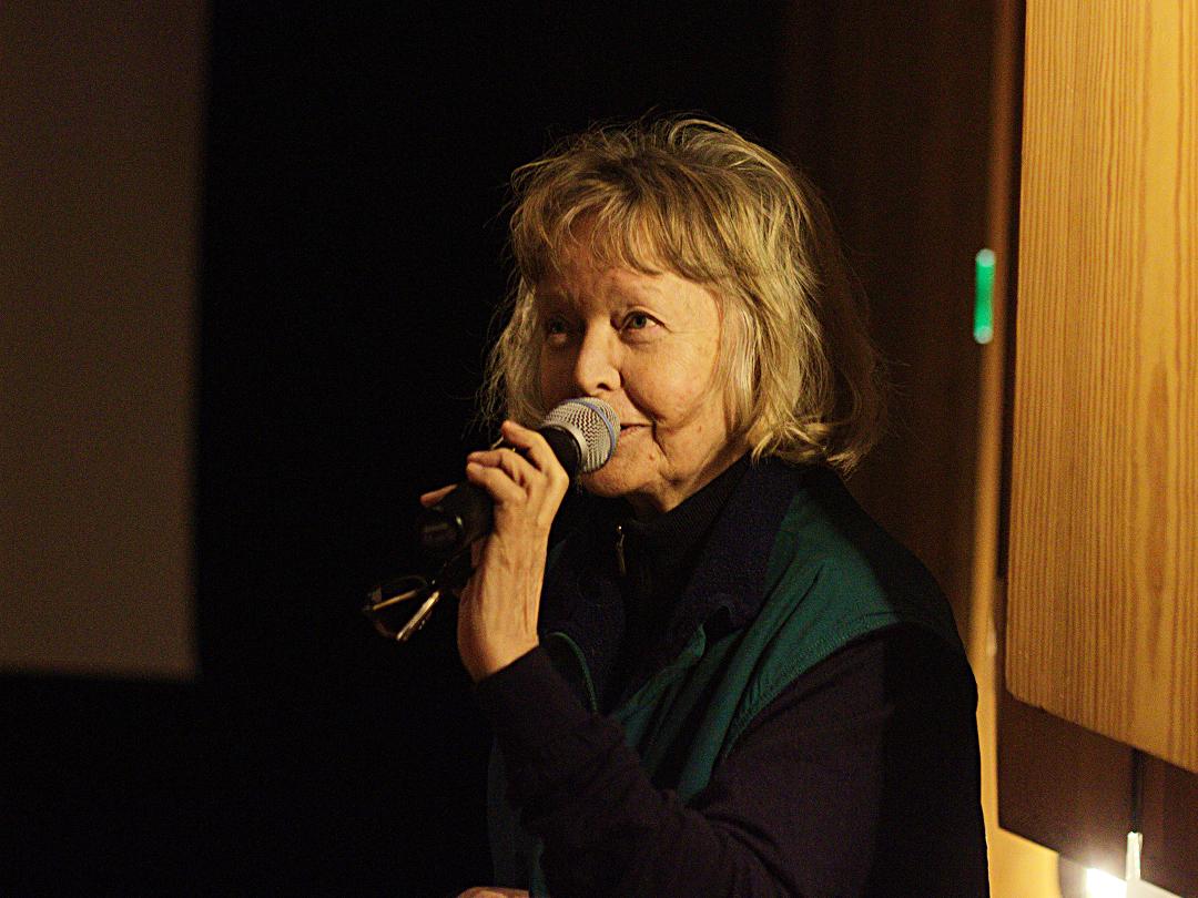 Elina Salo in Kino Iglu